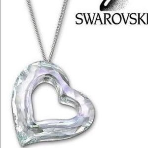 Swarovski Large Love Heart pendant necklace.